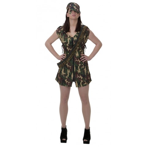 Army Dress- One size