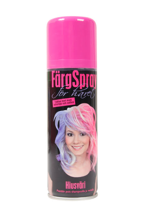 Hair spray Pink