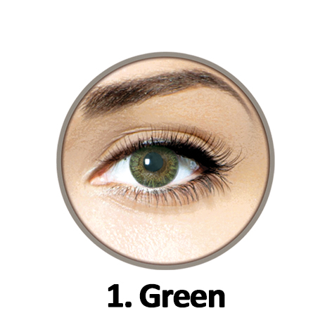Vivalook Clear Green Lens Without Power