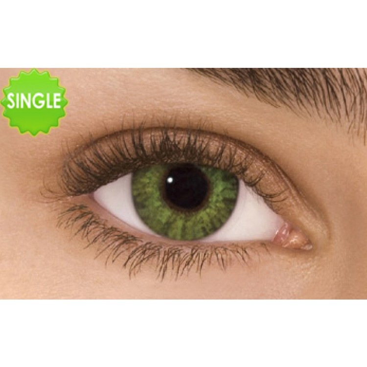 Freshlook Colorblends Gemstone Green Med Styrka, SINGLE