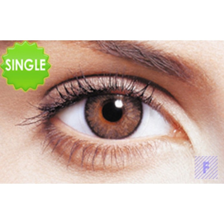Freshlook Colorblends Brown Med Styrka, SINGLE