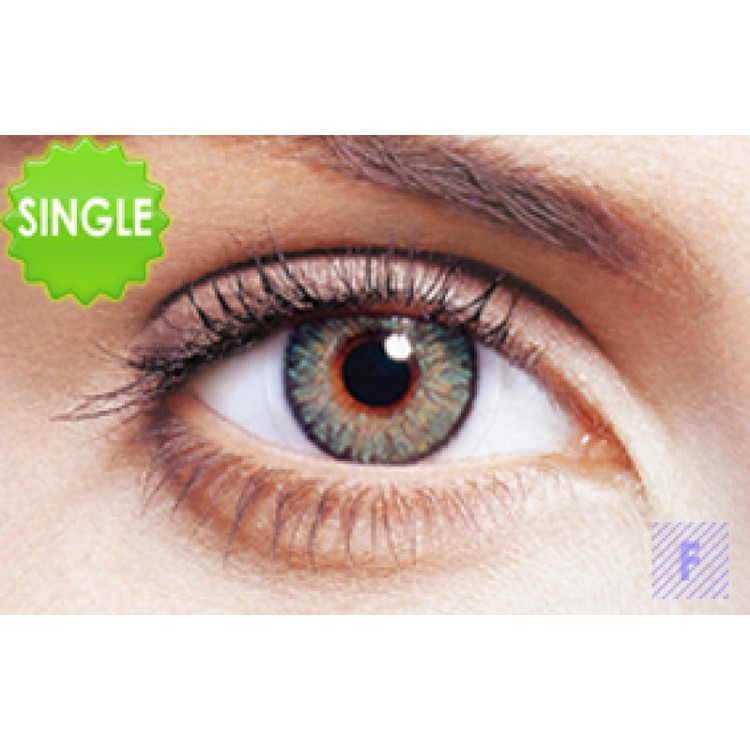 Freshlook Colorblends Green Med Styrka, SINGLE