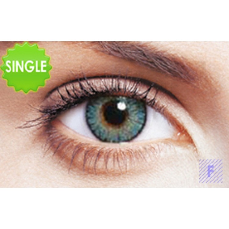 Freshlook Colorblends Turquoise Med Styrka, SINGLE