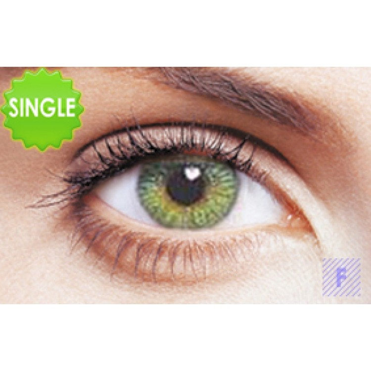 Freshlook Colors Green Med Styrka, SINGLE