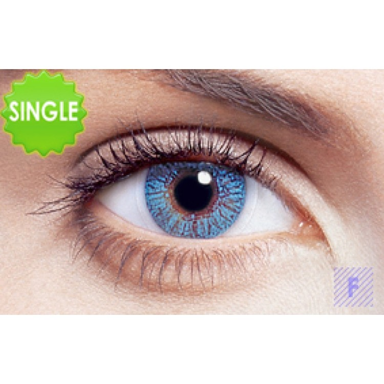 Freshlook Colors Blue Med Styrka, SINGLE