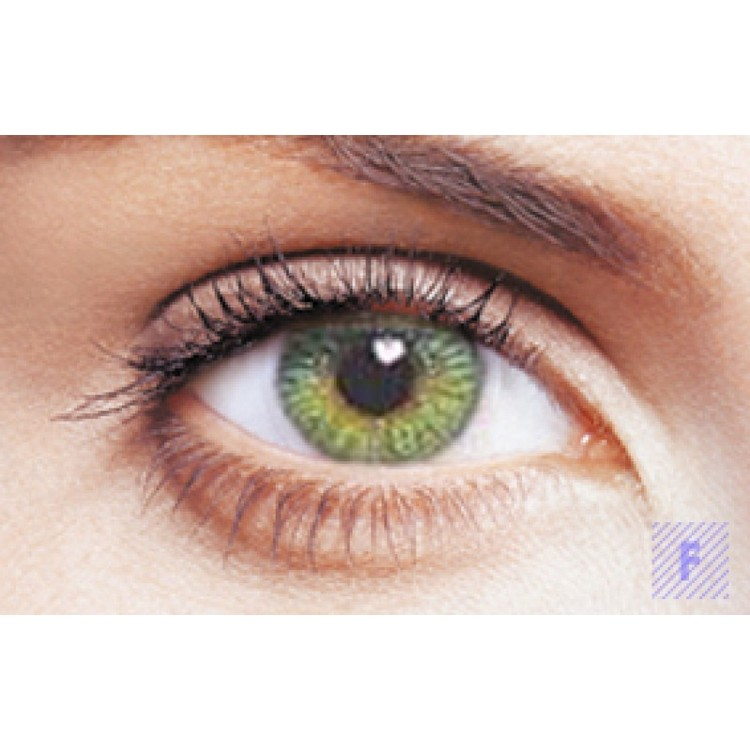 Freshlook Colors Green Med Styrka