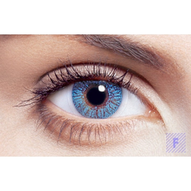 Freshlook Colors Blue Med Styrka