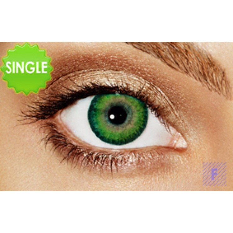 Freshlook Dimensions Sea Green Med Styrka, SINGLE