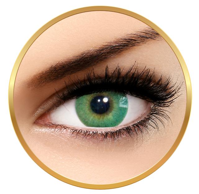 Solotica Hidrocor Verde årslinser utan styrka