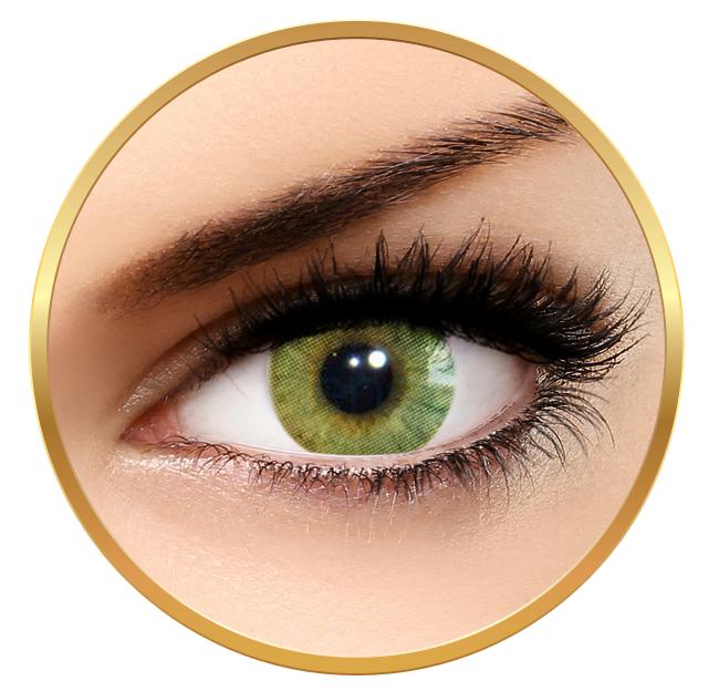 Solotica Hidrocor Ambar årslinser utan styrka