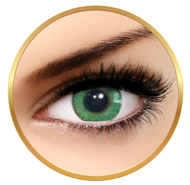Solotica Natural Colors Verde årslinser utan styrka