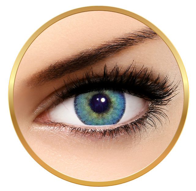 Solotica Natural Colors Topazio årslinser utan styrka
