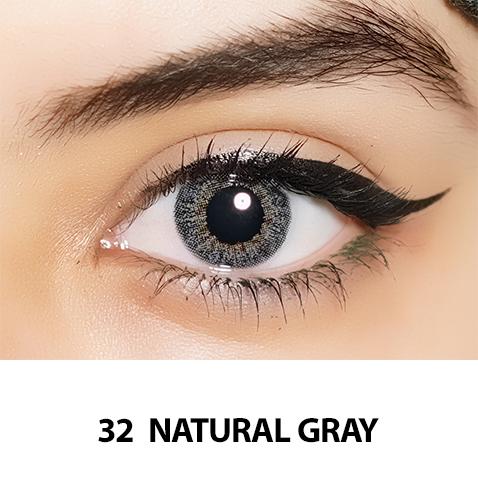 32-Faceloox Natural Royal Grey One Day utan styrka ett par