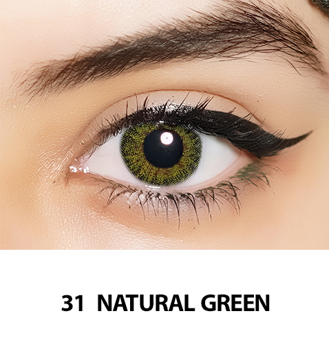 31-Faceloox Natural Royal Green One Day utan styrka ett par