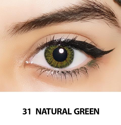 31-Faceloox Natural Royal Green One Day utan styrka ett par