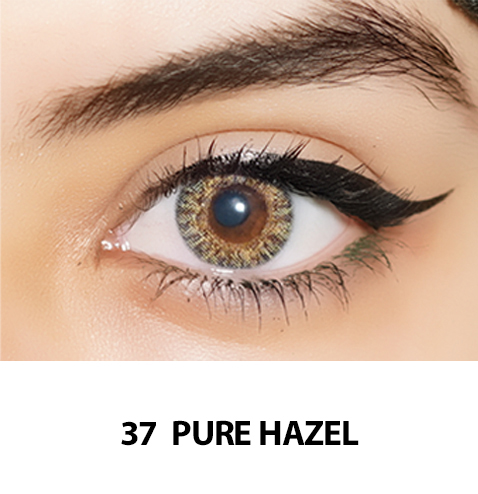 37-Faceloox Royal Pure Hazel One Day utan styrka ett par