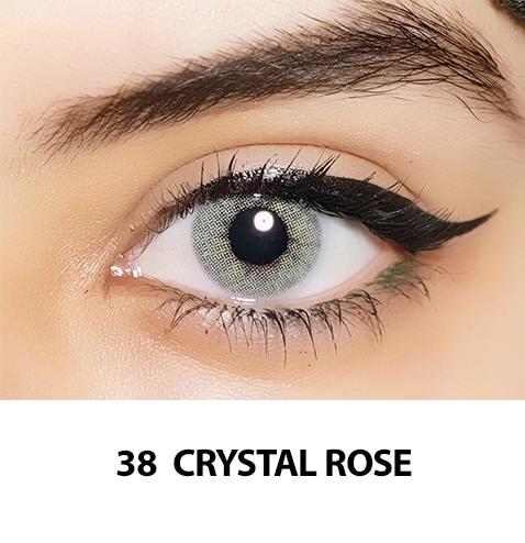 38-Faceloox Crystal Rose One Day utan styrka ett par