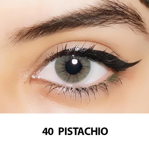40-Faceloox Pistachio One Day utan styrka ett par