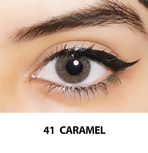 41-Faceloox Caramel One Day utan styrka ett par