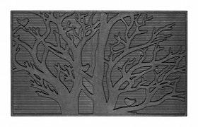 """Dörrmatta """"Tree"""", naturgummi, 75x45 cm, Dixie"""
