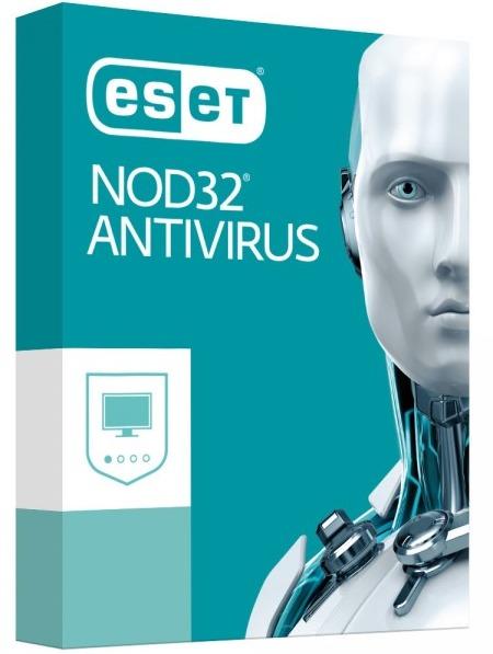 ESET NOD32 Antivirus 1 år, 3 användare