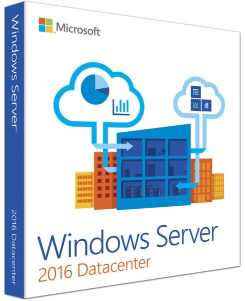 Microsoft Windows Server 2016 Datacenter 16 Core Sve (64-bit OEM)