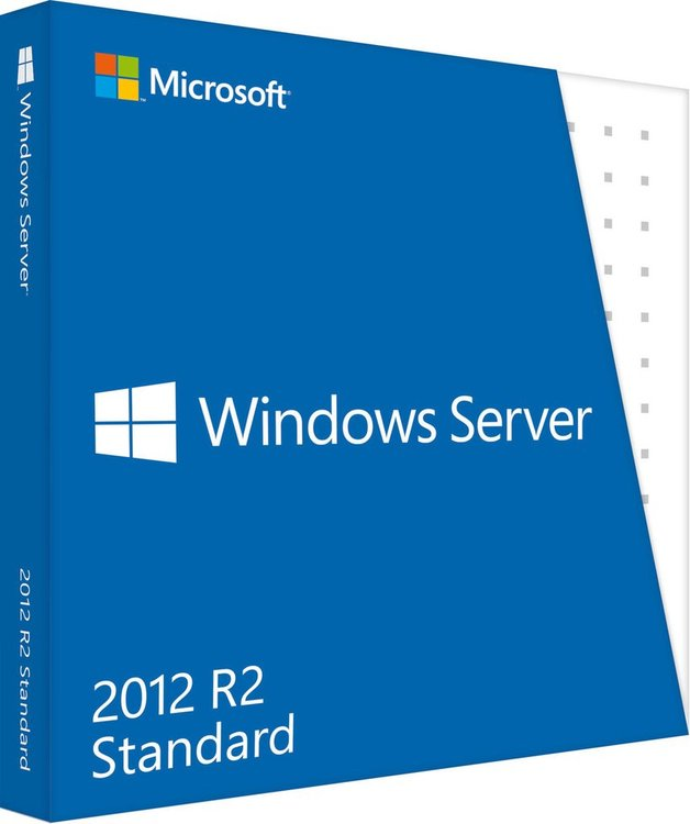 Microsoft Windows Server 2012 R2 Standard 2 CPU Sve (64-bit OEM)