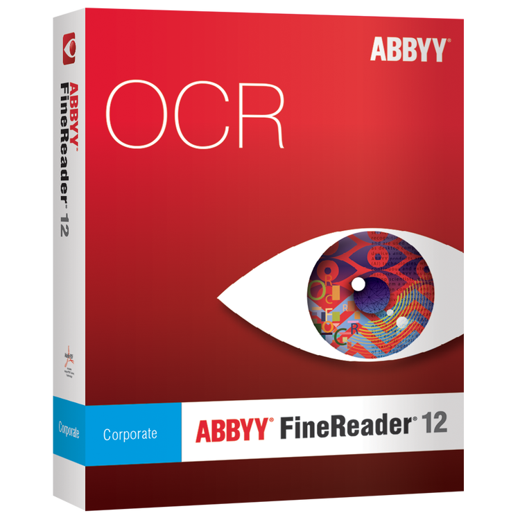 ABBYY FineReader 12 Corporate Edition (3 Concurrent/Network Licenses) för Windows