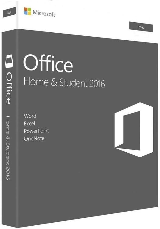 Microsoft Office Hem & Student 2016 för MAC