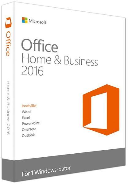Microsoft Office Hem & Företag 2016