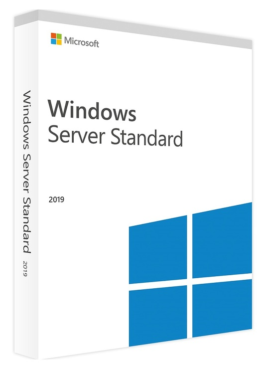 Microsoft Windows Server 2019 Standard 16 Core Eng (64-bit OEM) DVD