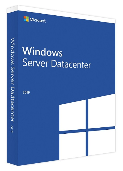Microsoft Windows Server 2019 Datacenter 16 Core Eng (64-bit OEM) DVD