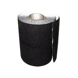 Griptape svart grov (decimeterpris) longboard griptape