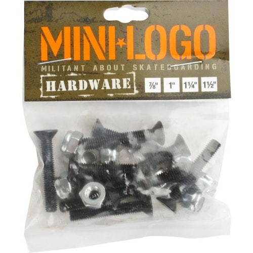 Mini Logo Skruv (flera längder)