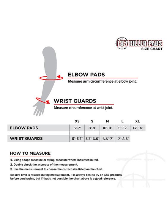 187 Killer pads Derby wristguards handledsskydd