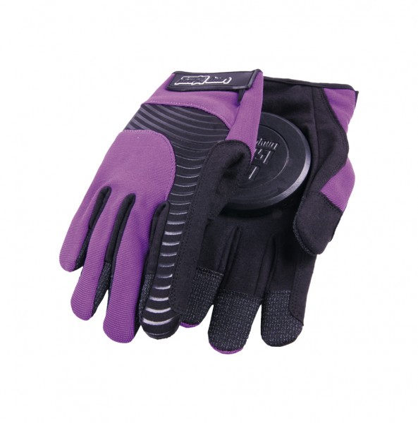 Long Island Mac Glove Purple slide gloves