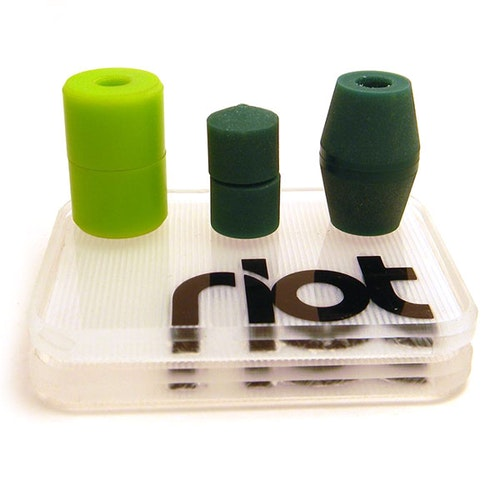 Riot Slide Pucks Square Flat slidepuckar