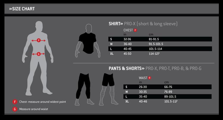 G-Form Pro X Shorts crash pants