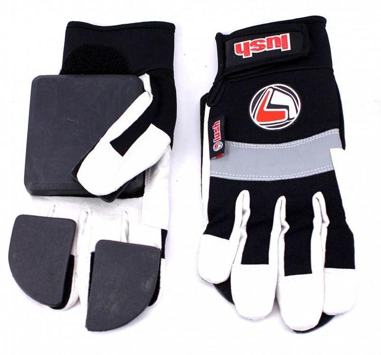 Lush freeride slide gloves (svarta)