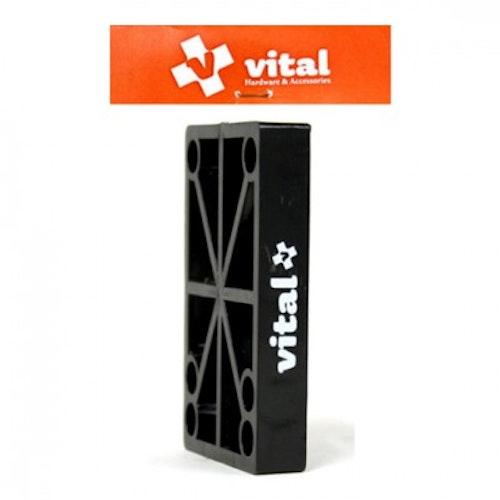 "VITAL RISER HARD Flat 9/16"""