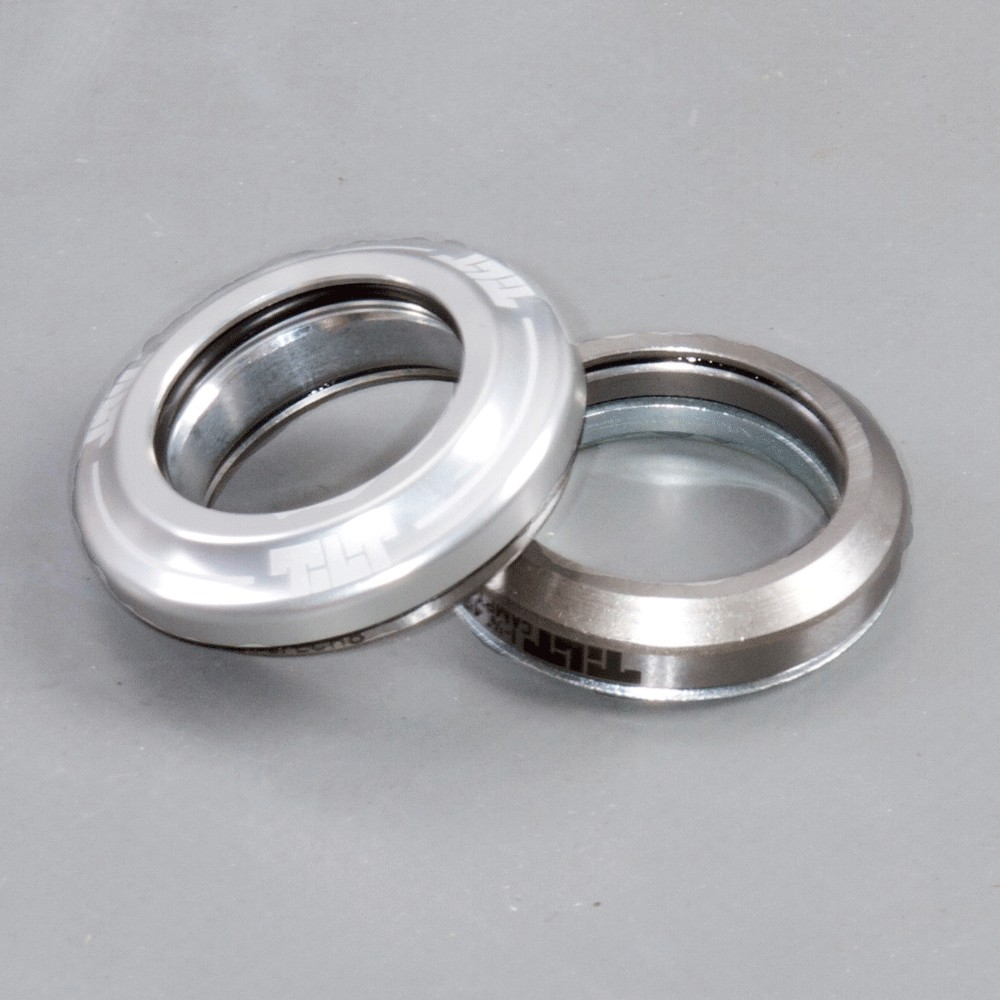 Tilt integrated headset silver