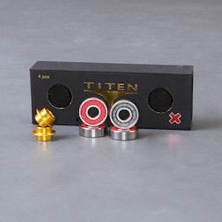 Titen RED X Kullager 4-Pack