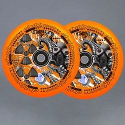 Chubby Lab Pro 110mm Orange Sparkcykel Hjul 2-pack
