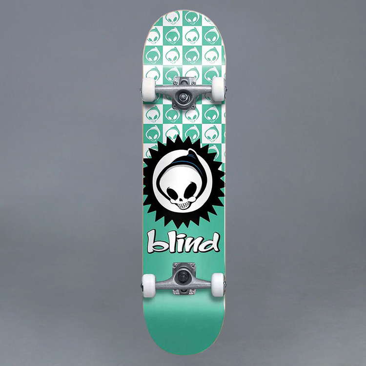 "Blind Checkered Reaper FP Tea 7.375"" Komplett Skateboard"