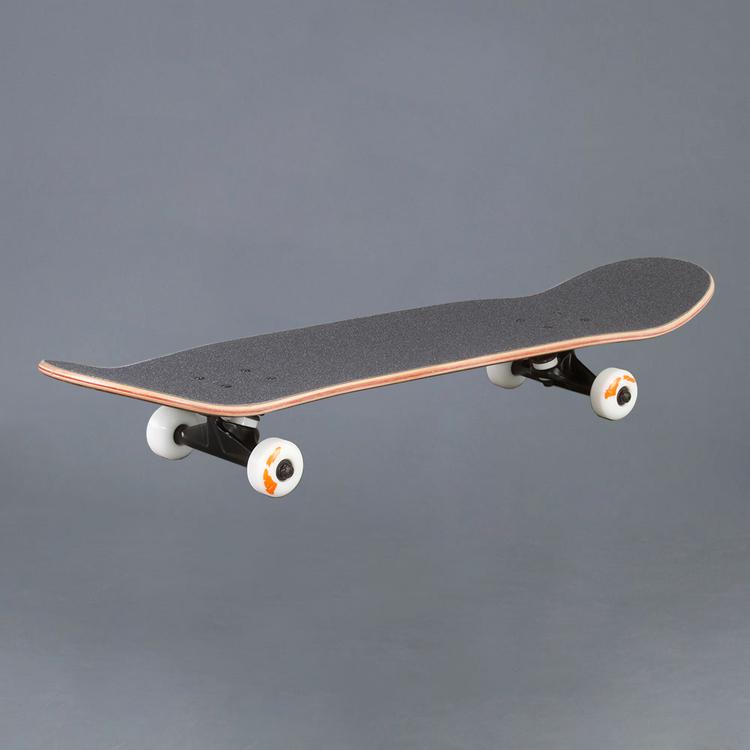 """Actionbolaget Skateboard 8.0"""" Komplett Maroon"""