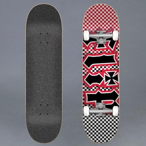 Flip Fast Times Red 7.8 Komplett Skateboard