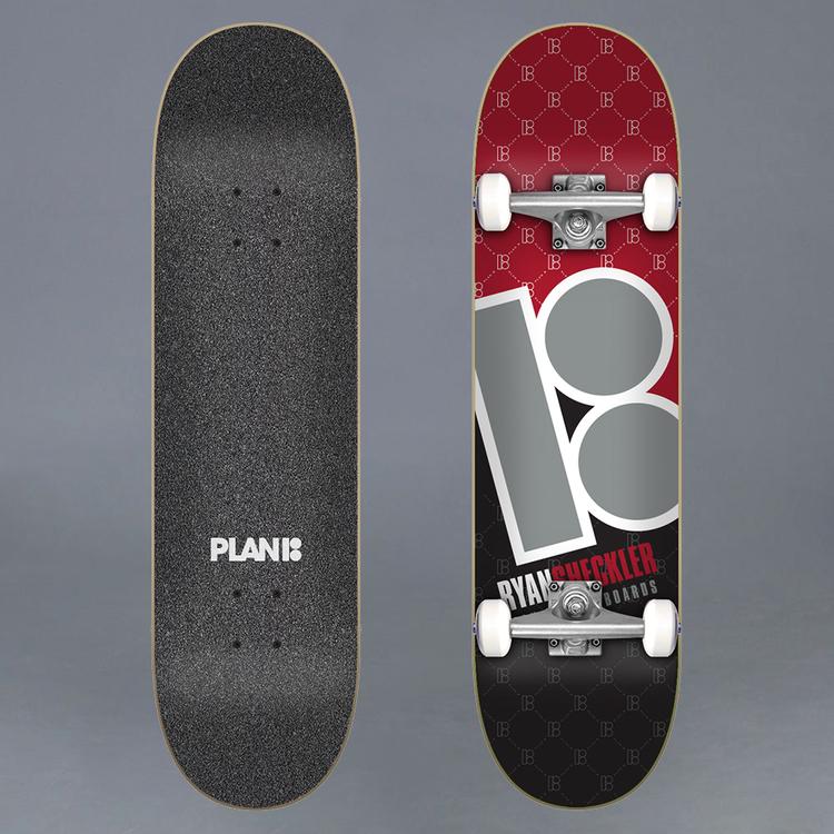 """Plan B Sheckler Corner 8.0"""" Komplett Skateboard"""