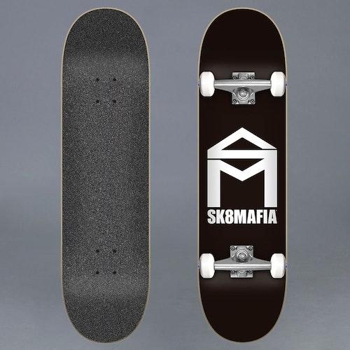 """Sk8Mafia House Logo Back 7.75"""" Komplett Skateboard"""