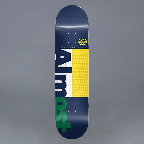 "Almost Max Ivy League Impact Light 8.25"" Skateboard Deck"
