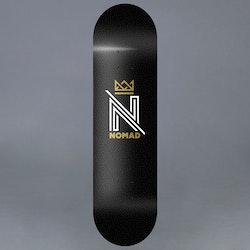"""Nomad OG Logo Black 8"""" Skateboard Deck"""